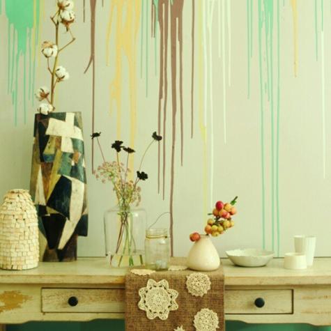 Mengecat Dinding Dengan Cara yang Kreatif dan Unik